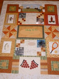 B' Family project on Craftsy.com, Quilting Big Projects on a Small Machine