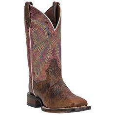 Dan Post Women's Teton Square Toe Western Boots