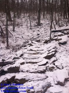 Wintery Spring on the #appalachiantrail March 2013