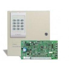 Kit format dintr-o centrală PC585 cu tastatură și transformator + modul SMS (SEKA SMS).