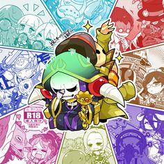 """こうた@オバロ垢さんのツイート: """"オバロ3期おめでとう! #オーバーロード… """" Gamer Pics, Light Novel, Cute Art, My Hero Academia, Manga Anime, Anime Art, Anime Characters, Videogames, Fangirl"""