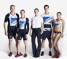 Stella McCartney and the Team GB athletes in their kit!