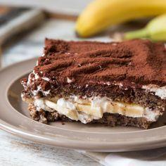 Backen, schichten, Löffel rein! Wenn frisch gebackenes Bananenbrot auf cremiges Tiramisu trifft, kommen Dessert- und Kuchenfreunde voll auf ihre Kosten.