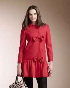 Abrigo de mujer Red Valentino