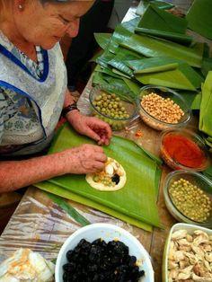 Tamales, Comidas Tipicas, Costa Rica.