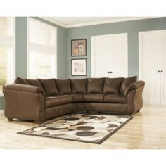 "Almath 2 Piece Sectional ""Cafe"" 