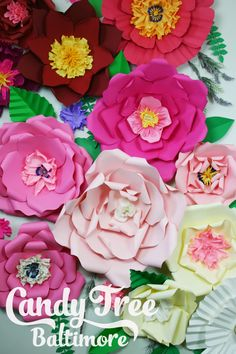 Paper Flower Backdrop / Giant Paper Flowers Wall / Paper Flower Wall / Wedding…