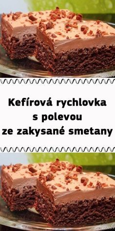 Kefir, No Bake Cake, Sweet Recipes, A Table, Tart, Cheesecake, Dessert Recipes, Food And Drink, Yummy Food