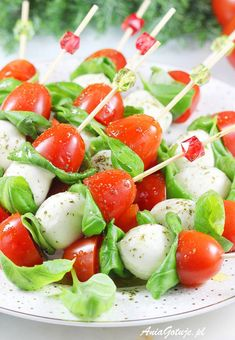 Barbecue, Brunch, Snacks Für Party, Caprese Salad, Finger Foods, Grilling, Picnic, Food And Drink, Appetizers