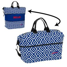bda266241 Buffalo Bills Tote Bag Expandable Diamond Carrier