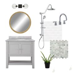 Guest bathroom plans
