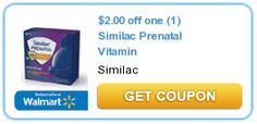 $2.00 off one (1) Similac Prenatal Vitamin