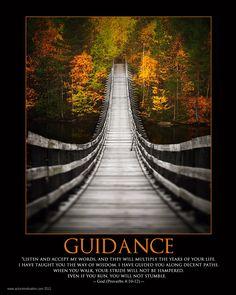 GUIDANCE - God