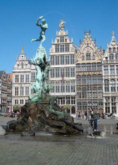 Grote Markt (market square) - Antwep, Belgium