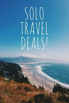 A central place for solo travelers to discover great deals especially for solo travelers - deals with no single supplement.