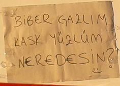 Neredesin Kask Yüzlüm =) #occupygezi #direngezi