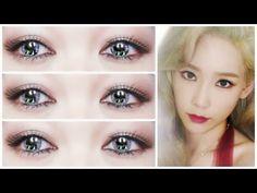 TAEYEON 태연 TAETISEO DEAR SANTA MAKEUP TUTORIAL 소녀시대 태티서 메이크업 자습서 - YouTube