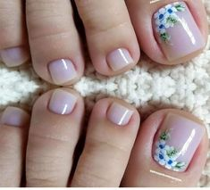 Healthy breakfast ideas for picky eaters women video Pedicure Designs, Pedicure Nail Art, Toe Nail Designs, Toe Nail Art, Art Designs, Cute Toe Nails, Love Nails, Pretty Nails, May Nails