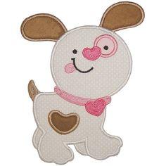 girl or boy Valentine Puppy Love Alpha Personalized by GingezShop, $23.95