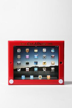 [Urban Outfitters Etch A Sketch iPad Case] #office #products $50