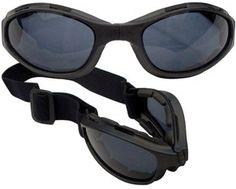 New Comtec Black Foldable Goggles Lightweight Anti Fog Shatterproof Lens   eBay