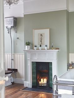 Real home: a renovated Victorian semi-detached home : Victorian decor ideas – Victorian living room colours and inspiration for a victorian home including victorian home decor, victorian living room decor traditional styles and victorian house ideas. Victorian Terrace Interior, Victorian House Interiors, Victorian Living Room, Victorian Home Decor, Victorian Fireplace, Victorian Homes, Victorian Architecture, Modern Victorian Bedroom, Edwardian Bathroom