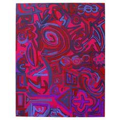 Puzzle Symbols Blue red Originals Puzzles. Art, toys and games. Rompecabezas originales. Arte en juegos y juguetes. Art by Ludovico Misino Designer