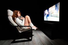 Telewizor 65 cali dla kobiety i mężczyzny :) #tv #black