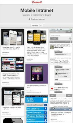 37 screenshots of mobile intranets - Digital Workplace Group Workplace, Social Media, Digital, Social Networks, Social Media Tips