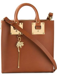 SOPHIE HULME Square Tote. #sophiehulme #bags #shoulder bags #hand bags #leather #tote