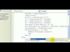Tutorial-122-Imparare Visual Basic - #Apprendere #Basic #Corso #Imparare #Istruzio #Lezione #Lezioni #Linguaggio #Programma #Programmare #Programmazione #Scoprire #Scuola #Tutorial #Video #Visual http://wp.me/p7r4xK-YN