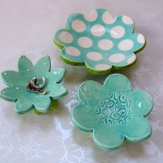 Hey, I found this really awesome Etsy listing at https://www.etsy.com/listing/105978395/ceramic-dish-set-of-light-turquoise