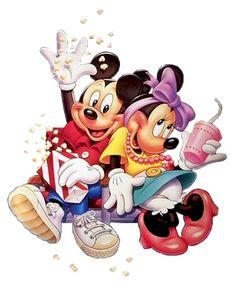 Mickey & Minnie Popcorn