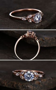28 Bespoke Natural Engagement Rings You Must See Wedding