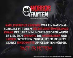 Wer kennt ihn? :D #horror #horrorfakten #fakten