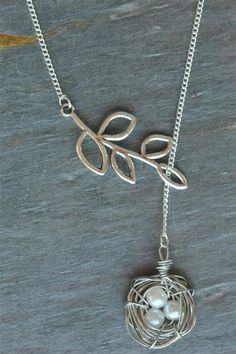 Blondellamy'Dean - Silver Bird Nest Necklace, $25 (http://www.blondellamydean.com/silver-bird-nest-necklace/)