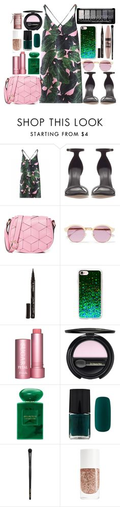"""Day out ! ! ! ! ! !"" by lipsy-look ❤ liked on Polyvore featuring Zara, Welden, Sheriff&Cherry, Smith & Cult, Maybelline, Casetify, Fresh, Dr.Hauschka, Giorgio Armani and Forever 21"