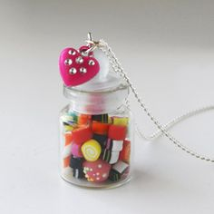 Candy Jar Necklace