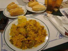 İspanyolların meşhur özel soslu pilavı; Paella Valencia/Spain
