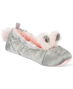 Carter's Girls' or Little Girls' Bunny Slippers