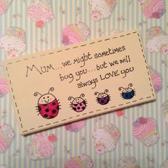 mothersday gift mums are like buttons keepsake wooden plaque vera