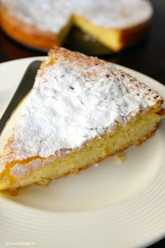 Citroen yoghurt cake zonder boter - Lovemyfood.nl