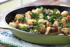 A hearty sausage hash is a nutrient-dense and hearty meal that can be served any time of day.