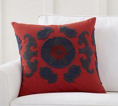 Suzani Applique Pillow Cover, 22