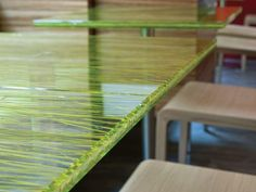 Image result for restaurant table tops green