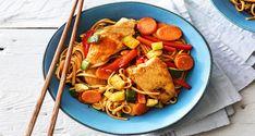 Sweet Chilli Chicken Noodle Stir Fry Recipe | HelloFresh