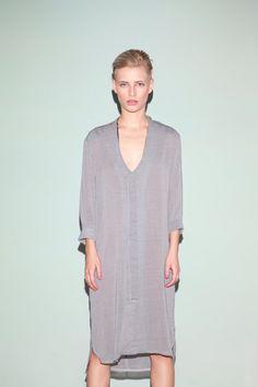 Gray summer dressloose dress elegant dress party dress