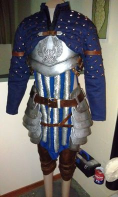 Making a grey warden (literally gasped and fanned myself when I saw this!