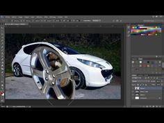 tuto Photoshop outil plume , détourage et changement de couleur - YouTube