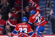Future line players of the Montreal Canadiens! Brendan Gallagher and Alex Galchenyuk Montreal Canadiens, Hockey, Go Busters, Team Player, Good Ol, Panthers, Just For Laughs, Power Rangers, Best Games